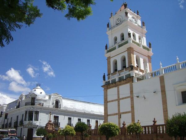 La Catedral de Sucre se empezó a construir en el siglo XVI