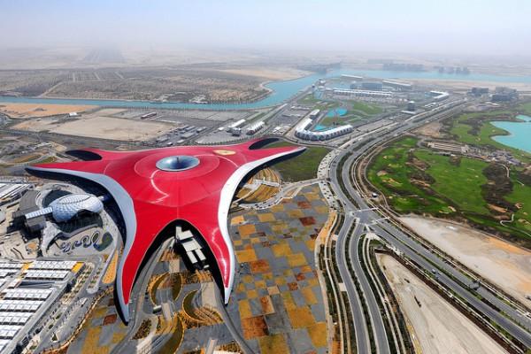 Ferrari World es un parque de atracciones en Abu Dhabi
