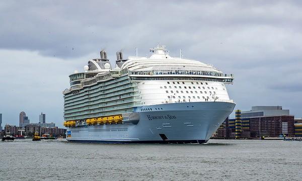 El Harmony of Seas es el crucero más grande del mundo