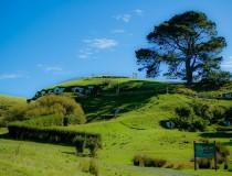 Hobbiton, en Nueva Zelanda