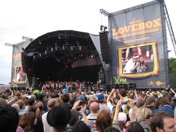 Lovebox es uno de los festivales musicales del verano de Londres