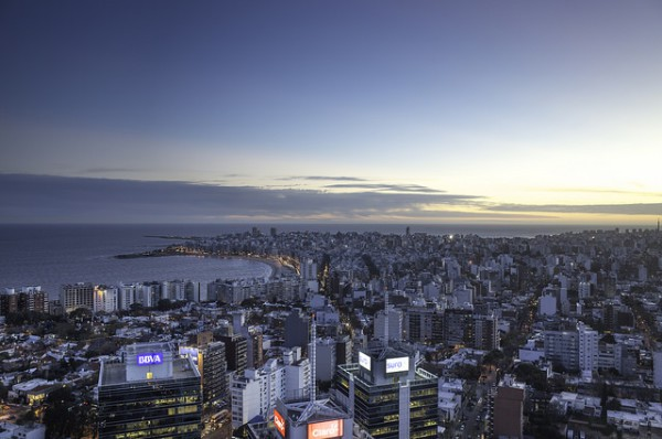 Montevideo es la capital de Uruguay