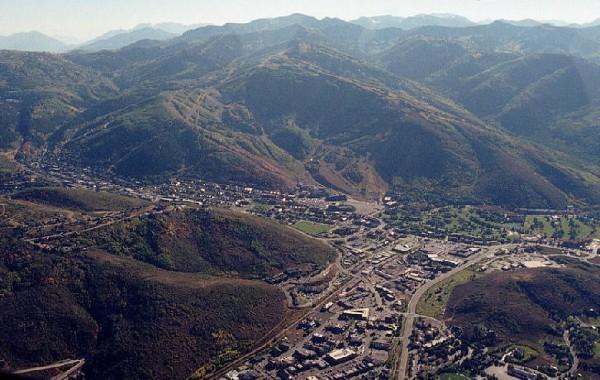 Park City es una famosa ciudad de Utah escondida entre montañas