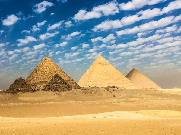 Las Pirámides de Guiza son uno de los monumentos más famosos de todo el mundo