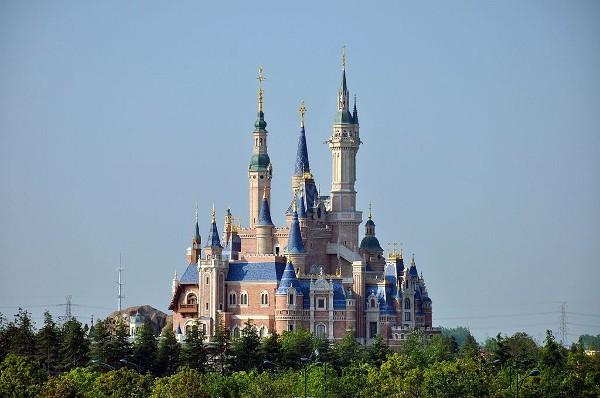 El castillo encantado del nuevo Disney Shanghai