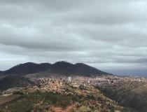 La ciudad histórica de Sucre, en Bolivia