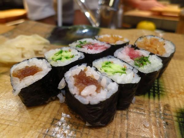 El sushi es uno de los platos estrellas de la gastronomía japonesa