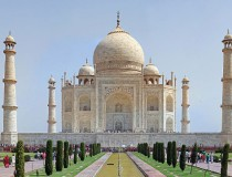 El Taj Mahal, icono de la India y maravilla mundial