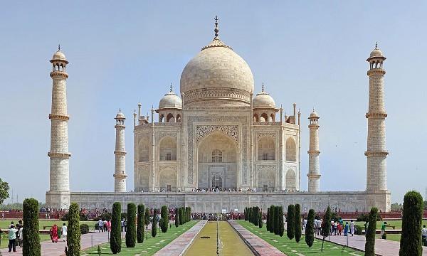 El Taj Mahal es el edificio más icónico de la India