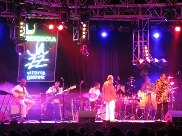 El festival de Jazz de Vitoria es uno de los eventos clásicos del verano en Euskadi