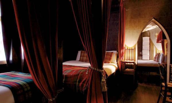 Habitaciones al estilo de Hogwarts en un hotel de Londres