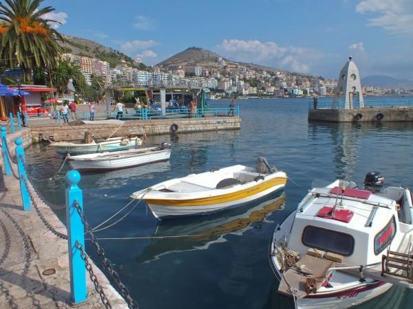 Un centro turístico de Albania