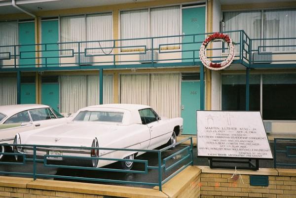 Martin Luther King fue asesinado en el balcón del Lorraine Motel