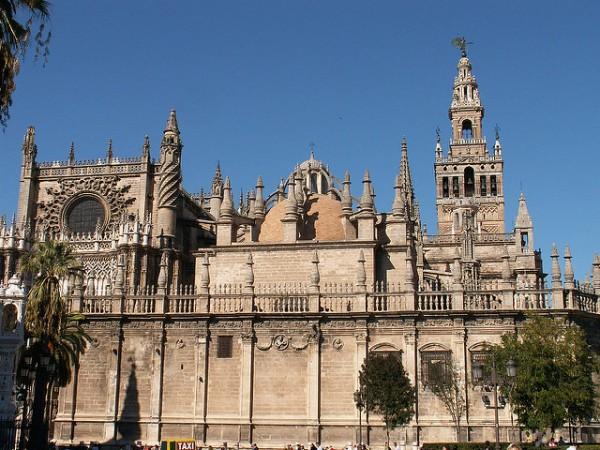 La Catedral de Sevilla es una de las más grandes del mundo