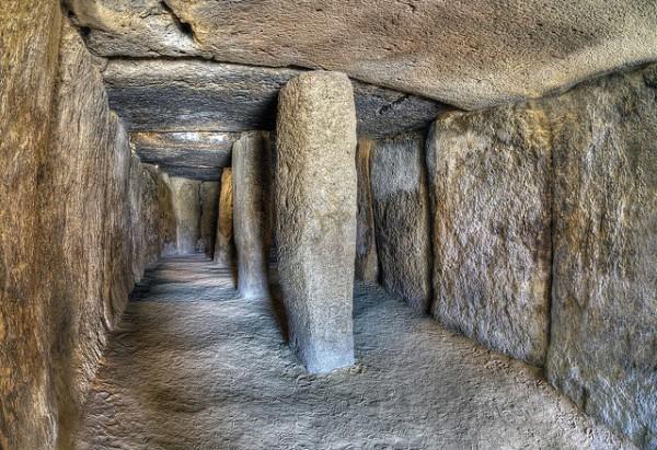 El Dolmen de Menga, en Antequera, es el más grande de Europa