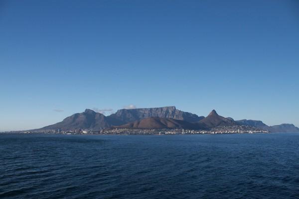 Vistas de la Montaña de la Mesa, símbolo de Ciudad del Cabo