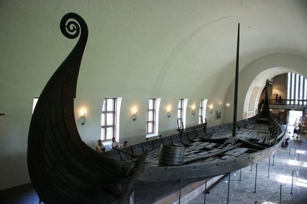 En Oslo hay un museo dedicado a barcos vikingos