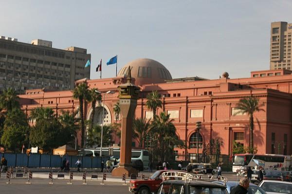 El Museo Egipcio de El Cairo es el más importante de todo el país