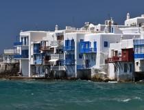 Mykonos, la isla griega de las grandes fiestas