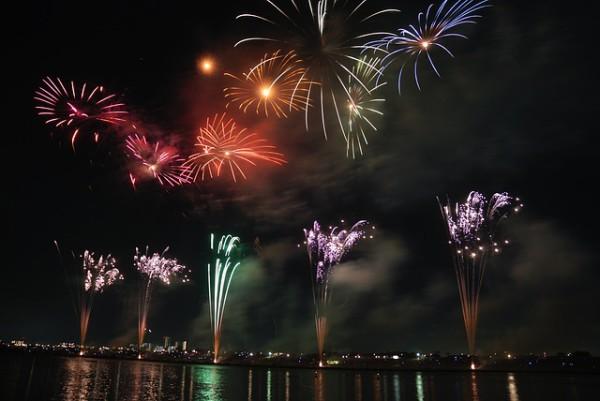 Eventos de fuegos artificiales para disfrutar en Japón en verano