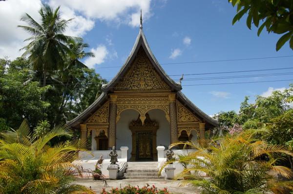 Alojarse en una mansión en Laos