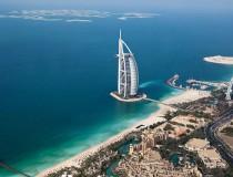 Burj al Arab, uno de los grandes hoteles de Dubai
