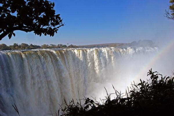 Las Cataratas Victoria, otra de las maravillas naturales de África