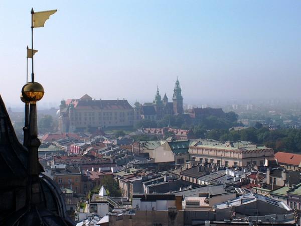 Vistas de Cracovia, la ciudad más bonita de Polonia