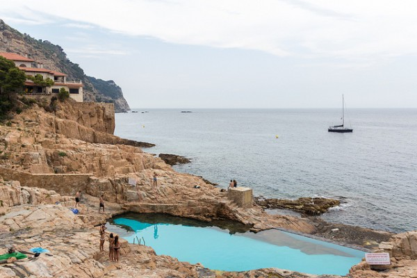 Es Caus, piscina casi natural en Begur