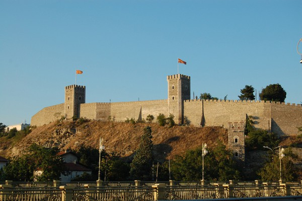 La Fortaleza es uno de los lugares más típicos de Skopje