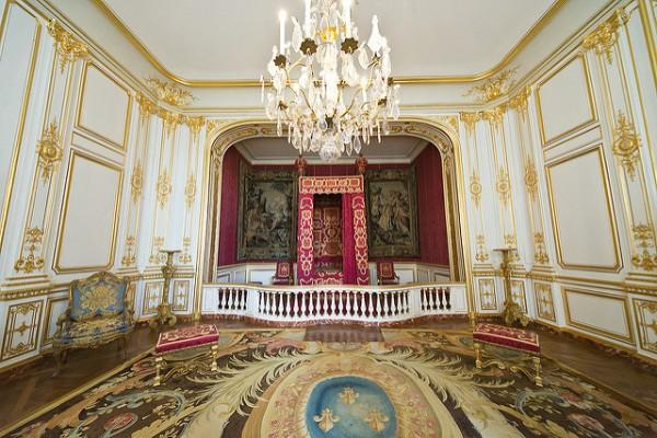 Los salones de Chambord reflejan el esplendor del Renacimiento francés