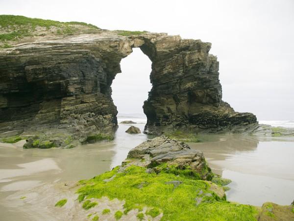 La playa de las Catedrales es una de las más bonitas del mundo