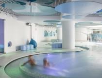 Likids, la zona del balneario de Caldea para los niños