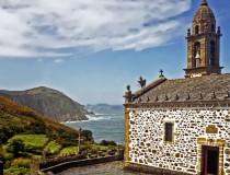 Santo André de Teixido, precioso pueblo al pie de los acantilados