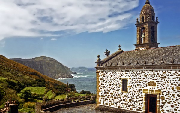Santo André de Teixido es una de las aldeas más bonitas de Galicia