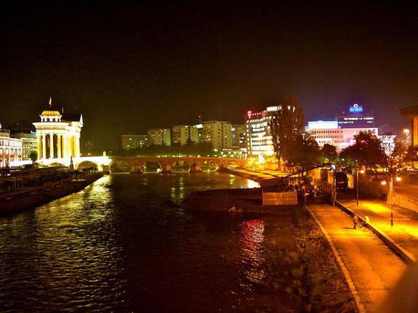 Skopje es la capital de Macedonia