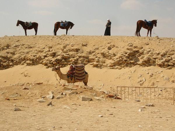 Egipto mejora las instalaciones de las pirámides de Giza