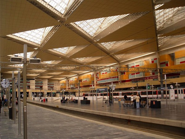 Aumentan los viajeros en el transporte público en España