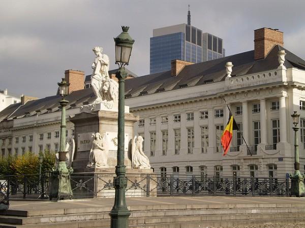 La Plaza de los Mártires en Bruselas