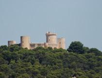 El Castillo de Bellver, en Mallorca