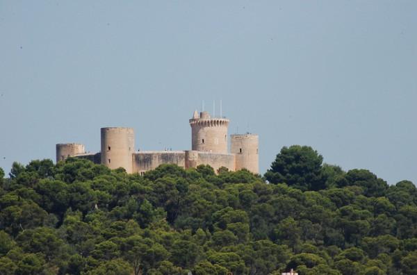 El Castillo de Bellver es uno de los monumentos principales de Palma de Mallorca