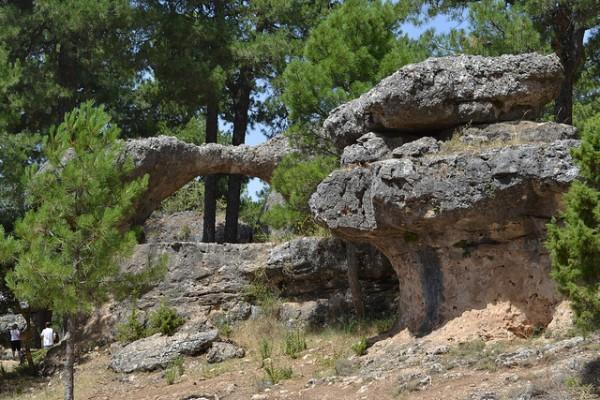 Curiosas formaciones geológicas en la Ciudad Encantada de Cuenca