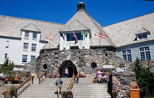 El Hotel Timberline sirvió de exteriores para El Resplandor