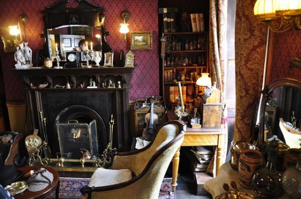 La casa de Holmes refleja fielmente las descripciones de Doyle