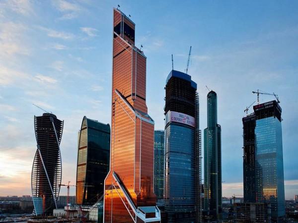 Mercury City Tower es una de las torres más grandes del Centro Internacional de Negocios de Moscú