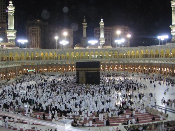 La Mezquita Sagrada de La Meca es el principal lugar del Islam