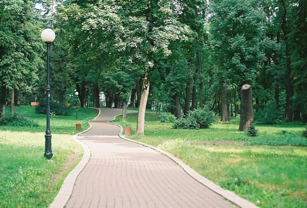 Kiev es una ciudad llena de zonas verdes