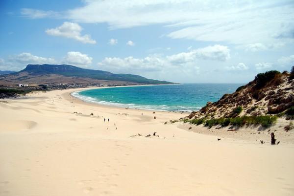 La Playa de Bolonia es una de las más bonitas de España