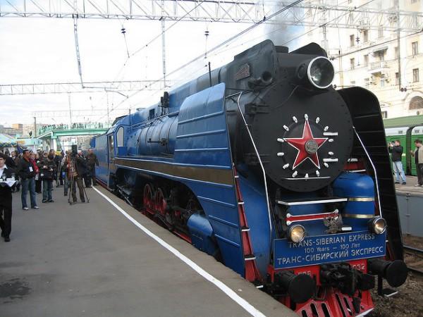 El transiberiano es uno de los trenes más famosos del mundo