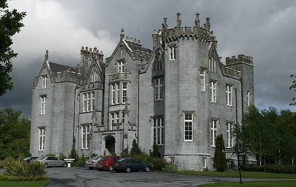 El Castillo de Kinnitty, en Irlanda